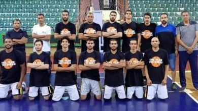 صورة كرة سلة: كفر الشيخ يهزم سوهاج ويشعل صراع القمة