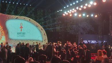 صورة وصول الخطيب و حسن حمدي و رئيس الاتحاد الدولي لقرعة مونديال اليد