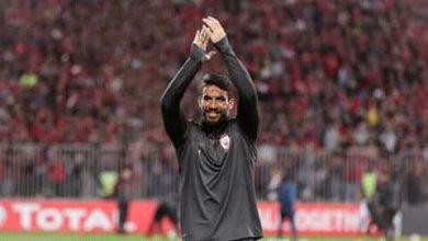 صورة إكرامي يهنئ الأهلي بالفوز بلقب الدوري