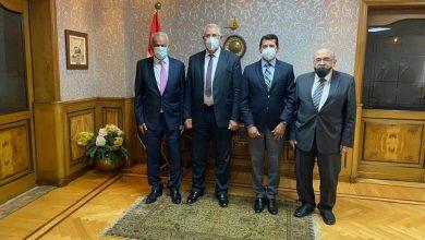 صورة تعرف علي سر أجتماع فرج عامر مع وزيري الرياضة والزراعة