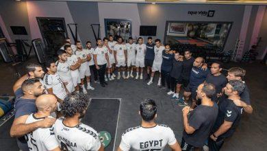 صورة منتخب اليد يخوض مرانه الأول في معسكر الغردقة استعداد لبطولة العالم