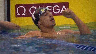 صورة يوسف رمضان نجم منتخب السباحة يحطم الرقم القياسي ويقترب من التأهل لأوليمبياد طوكيو