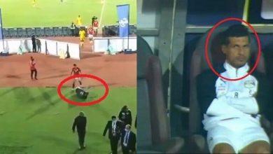 صورة بالفيديو.. طارق حامد يثير جدلا كبيرا في مباراة توجو.. والبدري يعلق