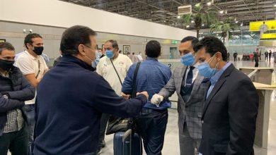 صورة وصول بعثة منتخب مصر من توجو بعد رحلة٦ ساعات