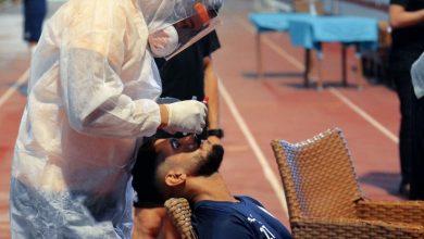 صورة الزمالك الآن – لاعبيه يجرون المسحه الطبيه قبل انطلاق المران