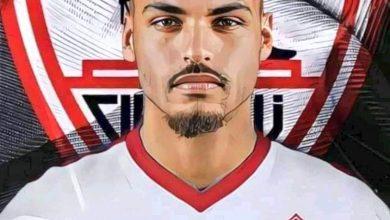 صورة لاعب الزمالك الجديد يدعم شيكابالا