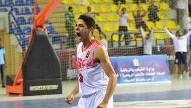 صورة ياسر وخيري بقائمة الأفضل في بطولة أفريقيا لناشئي السلة