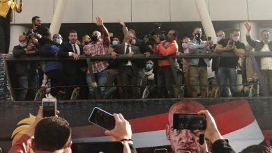 صورة عاجل.. وصول البيج رامي الي مطار القاهرة