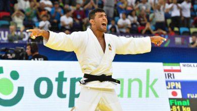 صورة وسائل إعلام إسرائيلية: بطل إيران سعيد مولاي يصل إلى إسرائيل لأول مرة للمشاركة في بطولة للجودو