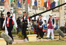 صورة منتخب روسيا يحسم منافسات الفرق سكيت للسيدات بكأس العالم للرماية خرطوش
