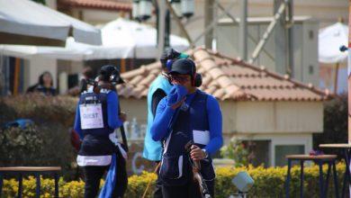 صورة إنطلاق التدريبات الرئيسية لمنافسات التراب بكأس العالم للرماية