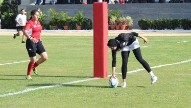 صورة سيدات مصر في الرجبي يتأهلون لنصف نهائي البطولة العربية