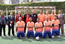 صورة فريق ضرائب مصر للكرة الخماسية يصعد لبطولة الجمهورية للمصالح الحكومية برأس البر ممثلا للقاهرة
