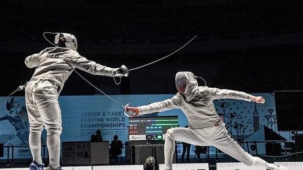 صورة زياد نوفل يودع منافسات السيف ببطولة العالم لناشئي السلاح